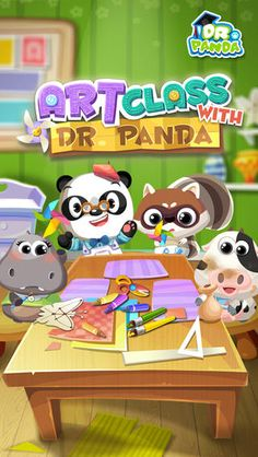 Art Class with Dr. Panda by Dr. Panda Ltd