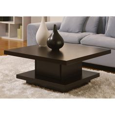 Price tracking for: Wakiaka Pagoda Coffee Table. These Modern Coffee Tables Are Great For Tying Together Living Room Furniture. Each Table Features A Solid Wood Construction And A Coffee Bean Finish. This Piece Can Also Function As A Unique Furniture Side Unique Coffee Table, Contemporary Coffee Table, Coffee Table With Storage, Coffee Table Design, Modern Coffee Tables, Coffe Table, Unique Furniture, Table Furniture, Living Room Furniture