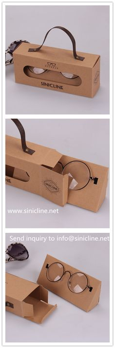 Eyeglasses boxes, designed and created by Sinicline. Can be customized with your brand logo. Inqiury today! #eyewear #eyeglasses #packaging