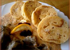 Hrníčkové knedlíky malinko jinak recept - TopRecepty.cz Snack Recipes, Snacks, Pancakes, Chips, Breakfast, Food, Snack Mix Recipes, Morning Coffee, Appetizer Recipes