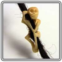 Skeleton Dread Bead!!!! Have to find one of these <3