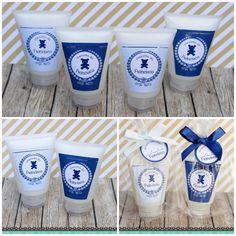 Mini Hidratantes com essência Mamãe Bebê para lembrancinha de Maternidade.