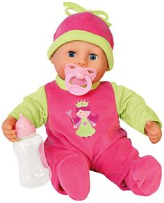 Bayer 38cm First Words Baby Modern Apple Design Laughs and Makes Sounds (Green/ Pink) Bayer http://www.amazon.co.uk/dp/B00LD4T102/ref=cm_sw_r_pi_dp_7Furub1JYSBRZ