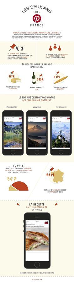Pinterest chiffres clefs 2015