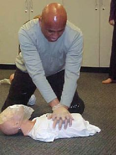 How to give CPR to a near-drowning victim. It's different than a collapse on dry land.