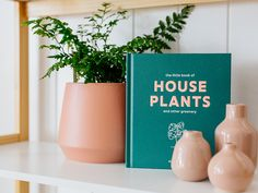 Emma Sibley's Little Book of House Plants and Other Greenery is quite literally a little book packed with inspiration for plant-enthusiasts especially those attempting to create a garden in a small space. With a breakdown of 60 popular plants, Sibley explains how to care for them and and includes notes on what to expect height, growth, flowering, and more.