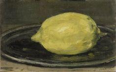 Édouard Manet (1832-1883). Le citron. 1880. Huile sur toile. Musée d'Orsay - Paris - France
