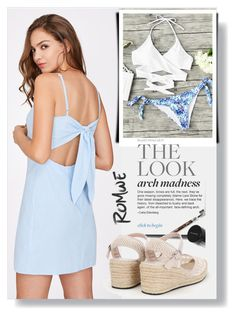 """""""Romwe 19"""" by melissa995 ❤ liked on Polyvore featuring Mix & Match"""