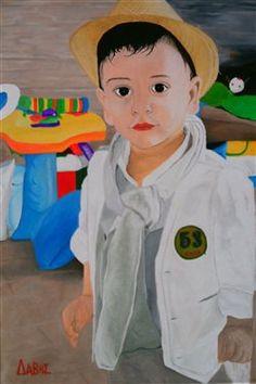 portrait of a boy - Media - Artist Daily