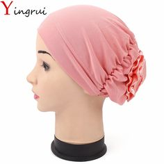 2.53$  Buy here - http://aiz61.worlditems.win/redirect/32803387062 - 11Colors Holiday Stretchy Turban Headband Head Wrap Elastic Band Women India Caps Floral Wimple For Ladies    #buychinaproducts