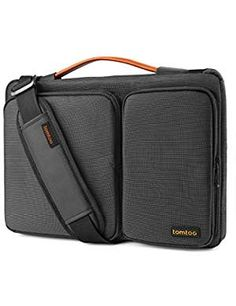 tomtoc 15 Inch Laptop Shoulder Bag with CornerArmor Patent Accessory Pocket, Protective Sleeve Fit for Old MacBook Pro Retina Macbook Pro 13, Macbook Air Retina, New Macbook Air, Macbook Air 13 Inch, Newest Macbook Pro, Surface Book, Surface Laptop, Microsoft Surface, Ipad Pro