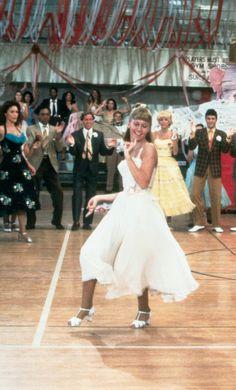 "Olivia Newton John in ""Grease"""