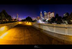 Visit www.AleksTrpkovski.com for more details - It was a nice and warm cloudless night last Monday here in Melbourne. I went to the city scouting for a nice cityscape composition to photograph. I found this location near the Melbourne Cricket Ground (MCG) worked best for the photo I imagined. In order to capture all scenery, I had to take four vertical exposures and then merged them together in Photoshop.  I hope you like it. Camera Settings, Scouting, Cricket, Melbourne, Composition, Scenery, Photograph, Photoshop, Australia