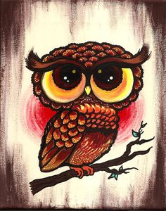 My owl painting