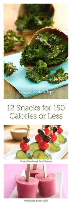 Swap your normal snacks for these delicious 150-calorie options!