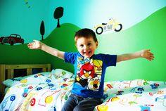 #Transportation theme #Kids room