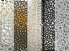 35 Best Ideas For Metal Screen Design Patterns Laser Cut Screens, Laser Cut Panels, Laser Cut Metal, Metal Panels, Laser Cutting, Metal Wall Panel, Screen Design, Wall Design, Design Design