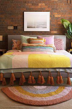 Charming Bohemian Bedroom Decor Ideas - DIY Home Ideas Bohemian Bedroom Decor, Home Decor Bedroom, Living Room Decor, Bohemian Interior, Bohemian Design, Deco Cool, Interior Decorating, Interior Design, Design Room