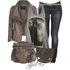 Stylish Eve Outfits 2013: Walk into Fall with Fabulous Earthy Tones | We Heart It