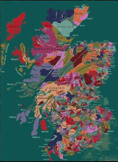 Colourfull map