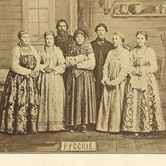 Группа русских Западной Сибири-1869 г.ф.И.С.Поляков