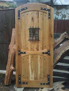 February 12 2019 at – doors Wood Front Doors, Rustic Doors, Wooden Doors, Interior Barn Doors, Exterior Doors, Industrial Door, Wooden Door Design, Cool Doors, House Windows