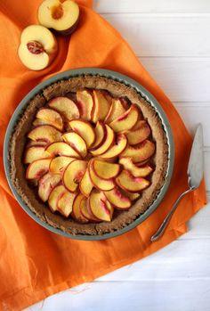 peach tart summer crust