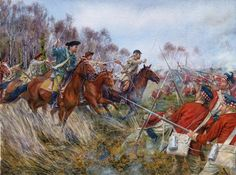 Battle of Cowpens, 17 January 1781, by Steve Noon. The battle of Cowpens was one of the decisive battles of the American Revolution.