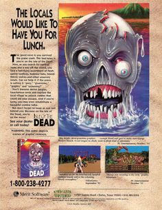 Isle of the Dead | print ad (1994)
