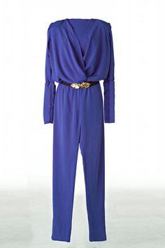 Mono azul con cintur�n