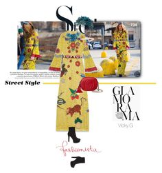 """""""Set # 734 /  Street style : Anna Dello Russo wearing Gucci at Milan's  fashion week"""" by vassiliki-g ❤ liked on Polyvore featuring Gucci, women's clothing, women's fashion, women, female, woman, misses, juniors, StreetStyle and fashionWeek"""