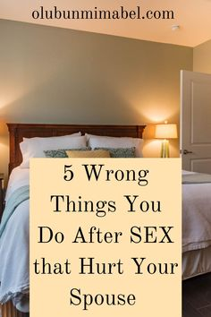 You just had an intimate session with your spouse. It was great. Or not. However it was, the end of a thing is as important as the beginning and the process. Below are 5 things you're probably doing wrong after being intimate with your spouse:.. #marriage #happymarriage #marriageadvice #marriagetips Happy Marriage Tips, Marriage Humor, Good Marriage, Marriage Advice, Relationship Advice, Wise Quotes, 5 Things, Couples, How To Make