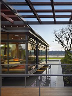Lake Washington Shores home by Garrett Cord Werner.