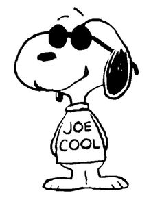 Tons of great Snoopy pics here including Joe Cool. Meu Amigo Charlie Brown, Charlie Brown And Snoopy, Snoopy Tattoo, Peanuts Cartoon, Peanuts Snoopy, Snoopy Pictures, Dot Org, Snoopy Quotes, Joe Cool