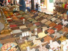 **Marche Provencal (market) - Antibes, France