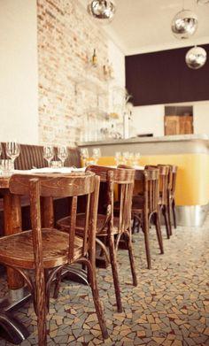 voyages autour de ma cuisine l 39 esprit bistrot dans les restaurants bistrot paris. Black Bedroom Furniture Sets. Home Design Ideas