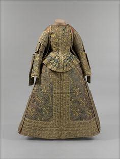 Later 16th Century Ladies Gown Keskiaikavaatteet, 1600-luku, Renesanssi, Naisten Vaatteet, Tanssiaismekko, Naisten Muoti