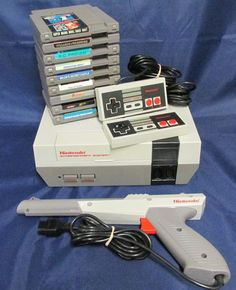 NES Ultimate Value Bundle Console, Games, Zapper & More! #Nintendo