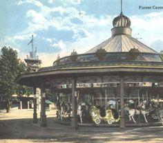 Finest Carousal ever made, Euclid Beach Park. :: Postcards of Cleveland - ca. 1915