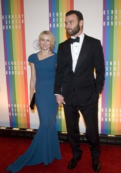 Liev Schreiber and his lady love, Naomi Watts. See him in Ray Donovan