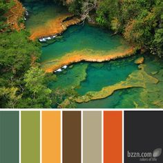 Semuc champey- also my root.ware color scheme!