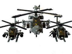 AH-64D Apache & Little Birds