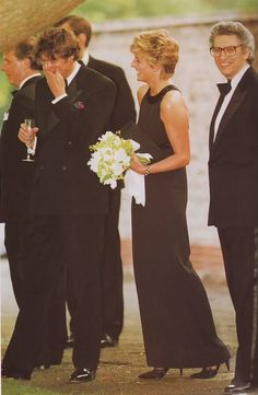 10 June 1993 Diana at the serpentine (I think she made him laugh as he took a sip of champagne!)