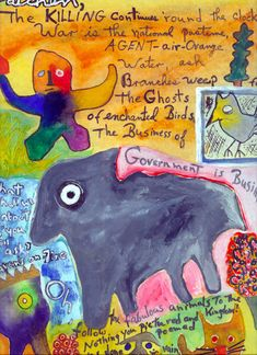 Kenneth Patchen...major influence on me. Time to resurrect fully. You should all know his work. Way, way ahead of his time.