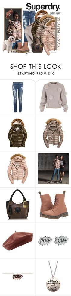 """""""The Cover Up – Jackets by Superdry: Contest Entry"""" by ragnh-mjos ❤ liked on Polyvore featuring Superdry, Tommy Hilfiger, TIBI, Fuji, Dr. Martens, Accessorize, Edge Only and Diane Kordas"""