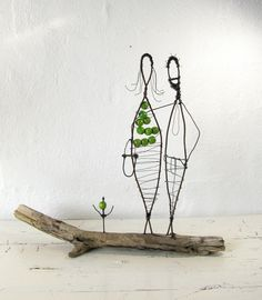 From my Folk Art Series. Year: © 2012 All rights to this design reserved by Idestudiet. Metalarte, Scrap Metal Art, Small Sculptures, Art Series, Stick Figures, Recycled Art, Wire Art, Scandinavian Design, Folk Art
