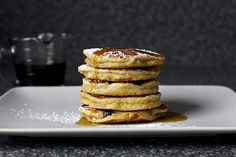 blueberry yogurt multigrain pancakes – smitten kitchen
