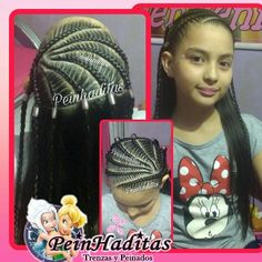 @moniksoy  #peinados #peinadosinfantiles #peinhaditas #trenzas #Medellin #Barriosalvador #cintas #moños #rastas Baby Girl Hair, Maria Jose, African Braids, Little Girl Hairstyles, Cornrows, Hairstyles Haircuts, Little Girls, Hair Cuts, Dreadlocks