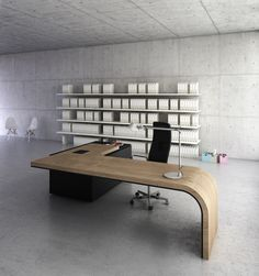 Executive desk - Dymitr Malcew