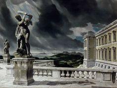 Terras met Hercules [1940] - Carel Willink